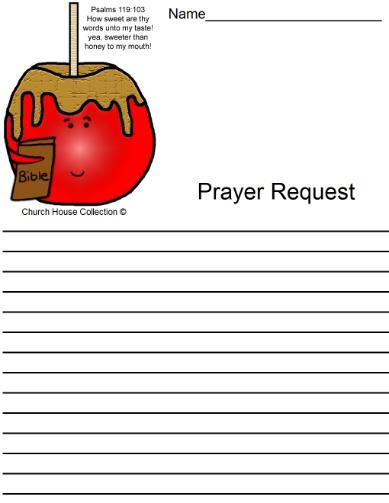 Candy Apple Prayer Request