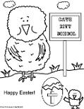 Cave City School Coloring Pages- Easter Coloring pages