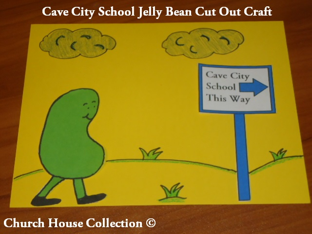 Cave City school Jelly bean Crafts