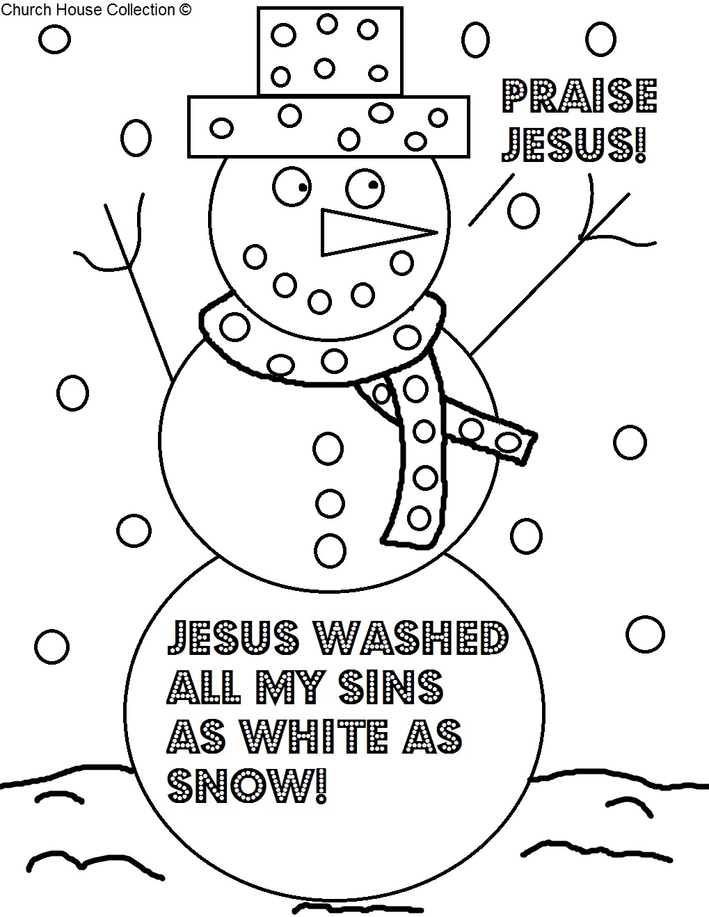 snowman sunday lesson