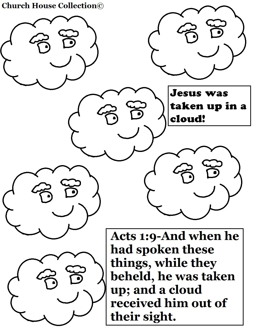 Cloud Sunday School Lesson