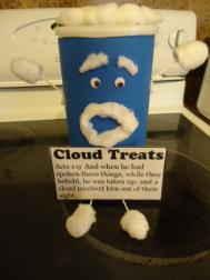 Cloud Sunday School Lesson Cloud Treats