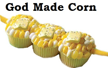 God Made Corn Cupcakes