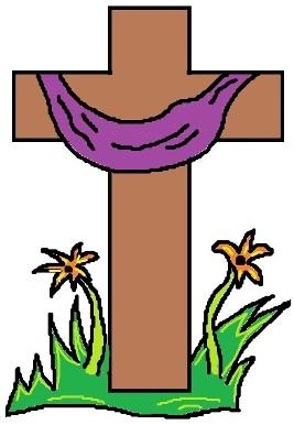 Easter Resurrection Cross Clipart