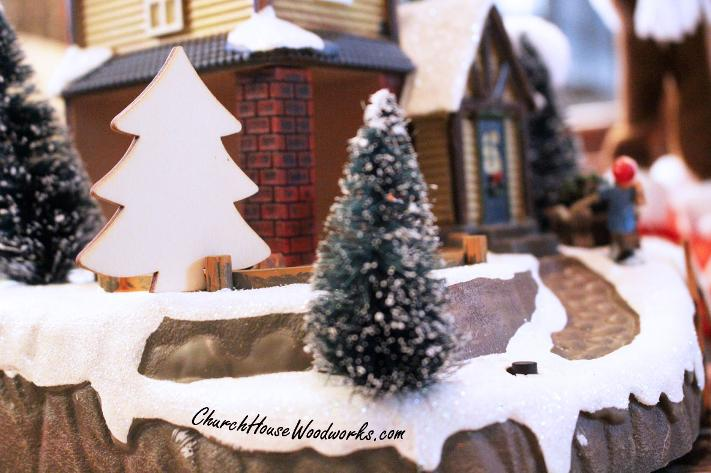 Wooden Christmas Trees For Sale For Christmas Villages, Crafts, DIY Christmas Wreaths, Projects, etc.