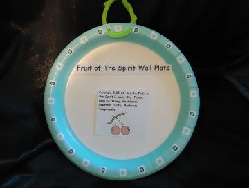 Fruit Of The Spirit Sunday School Lesson Plan For Kids By Church House Collection© Fruit Of The Spirit Wall Craft For Children