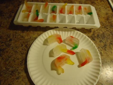 Gummy Worm Ice Cubes Dirt Worm God Made Dirt Lesson