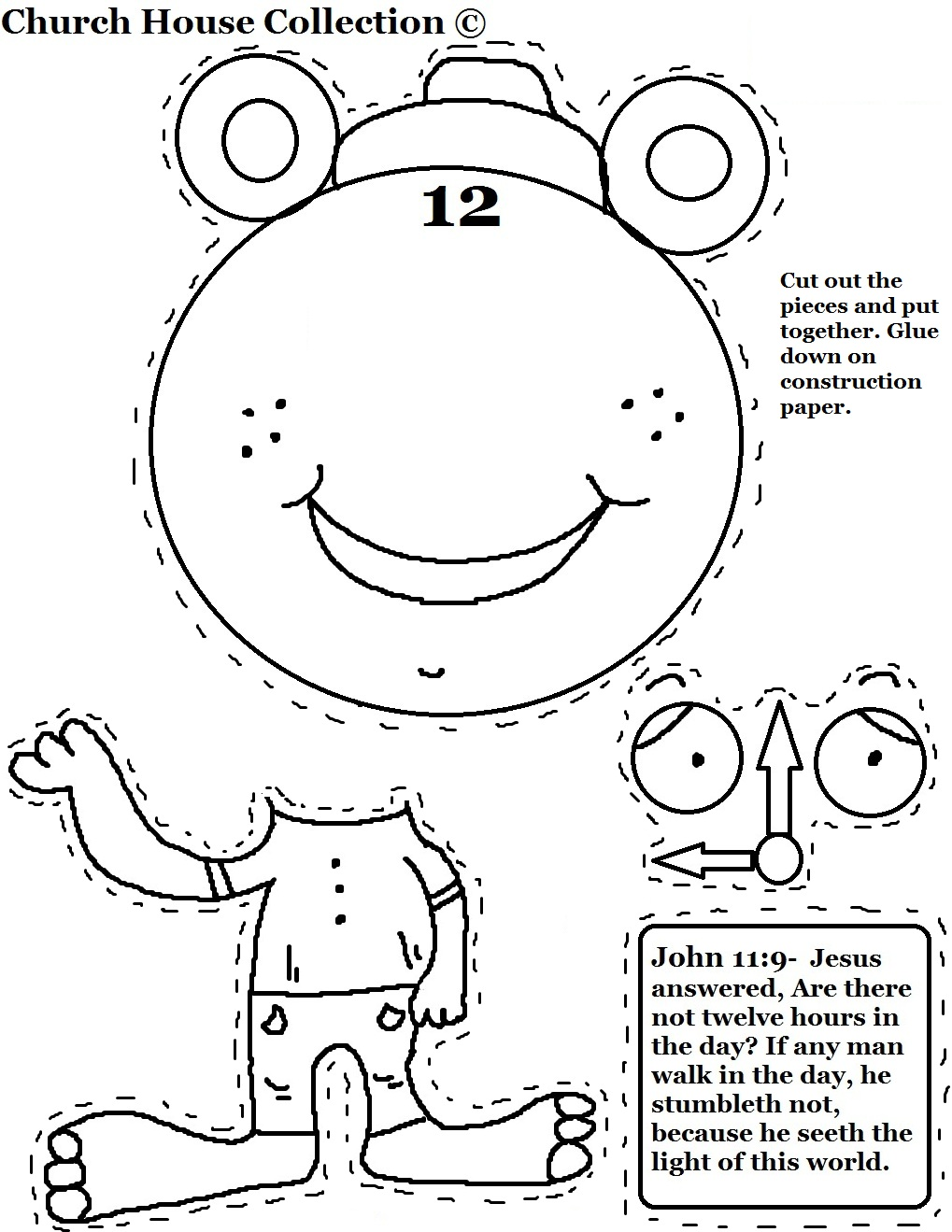 Daylight Savings Time Sunday School Lesson