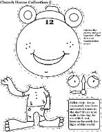 Daylight Savings Time Clock Cuout Activity Sheet for kids