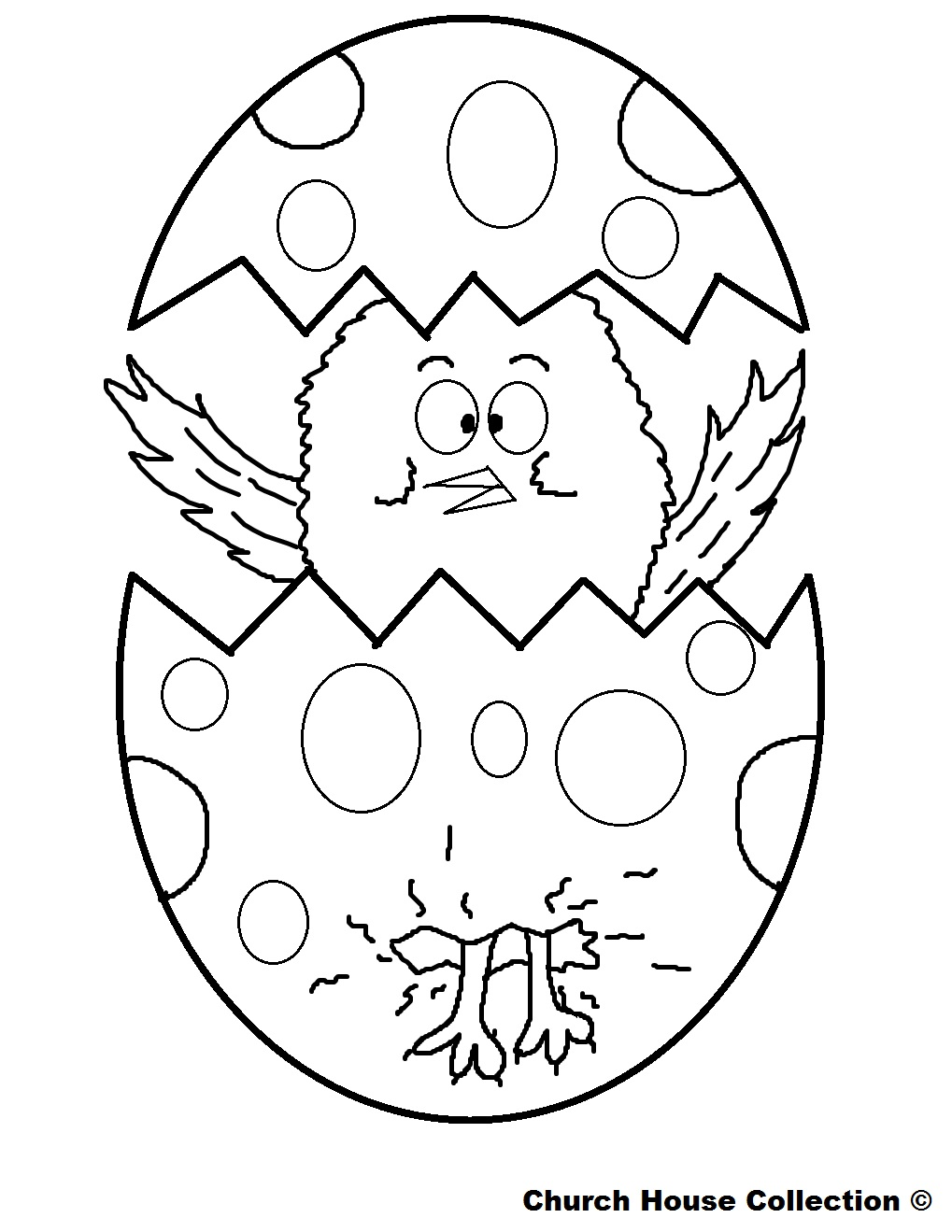 Easter Coloring Pages For School