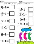 Easter Math Worksheets For Kids