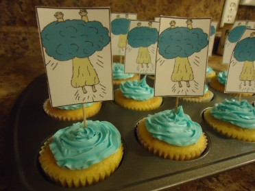 Jesus Ascension Cupcakes