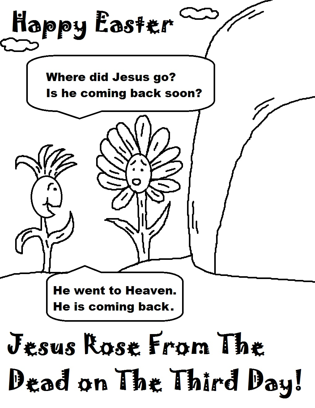 Flowers Talking About Jesus