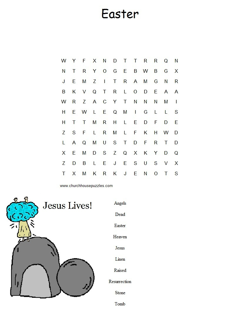 Dltk Word Search 170 Coloring Coloring Pages