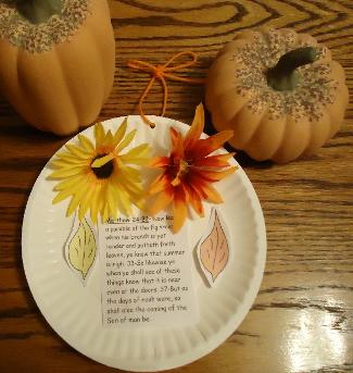 Fall Paper Plate Craft