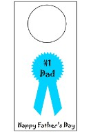 Father's Day Door Knob Hanger