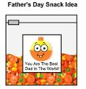 Father's Day Fishing Bobber Snack Idea