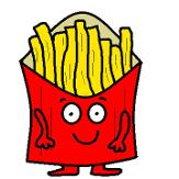 Food French Fry kindergarten preschool Coloring Pages for School Kids- Free Food Coloring Pages Sheets free Printable Snack Coloring Pages