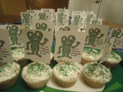 The 10 Plagues of Egypt Frog Cupcake Recipe