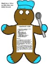 Gingerbread Recipe Print Out