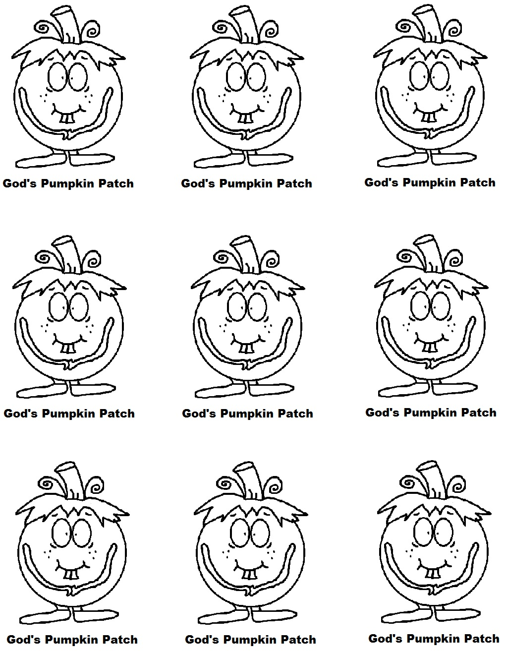 Pumpkin Sunday School Lesson Preschool Kids Fall Lesson Plans - Pumpkin-prayer-coloring-page