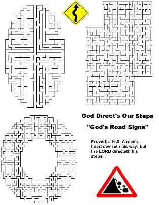 God's Road Signs  Maze
