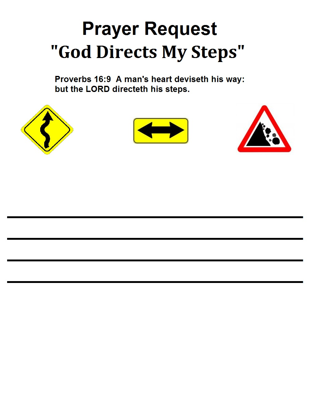 Gods road signs lesson prayer request robcynllc Images