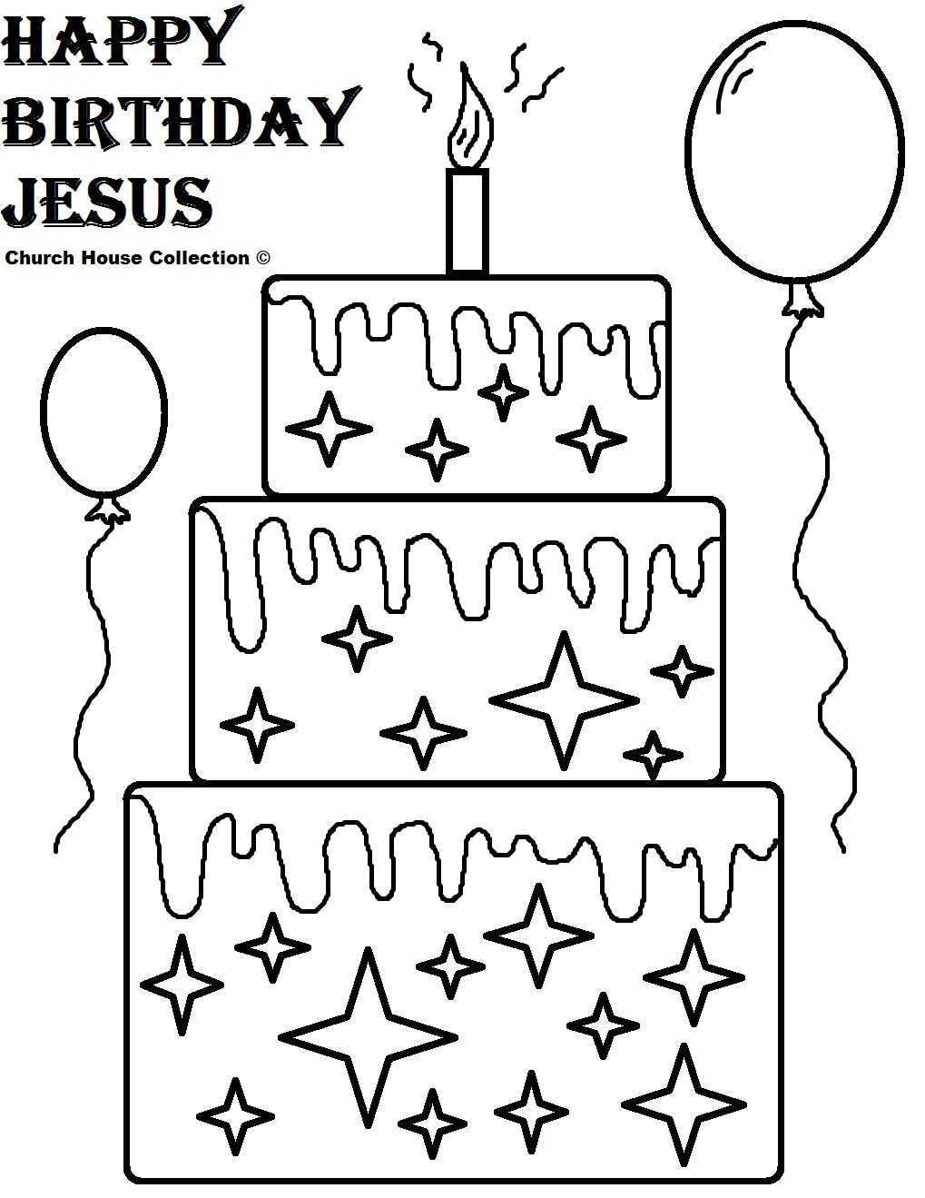 happy birthday jesus coloring pages - Baby Jesus Coloring Pages Kids
