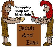 Free Jacob and Esau Sunday School Bible Coloring Pages