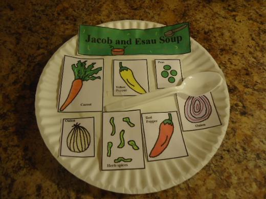 Esau and Jacob Soup Crafts