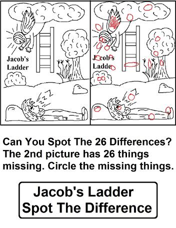 Jacob's Ladder Find The Difference