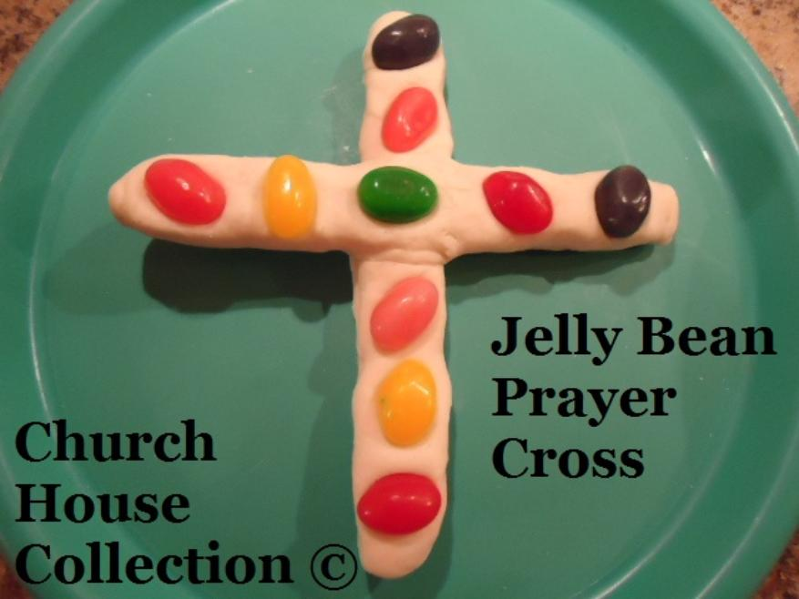 Jelly Bean Prayer Cross