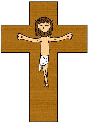 Jesus died on the cross clipart- Jesus died on the cross sunday school lesson