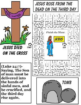 Easter Resurrection Maze
