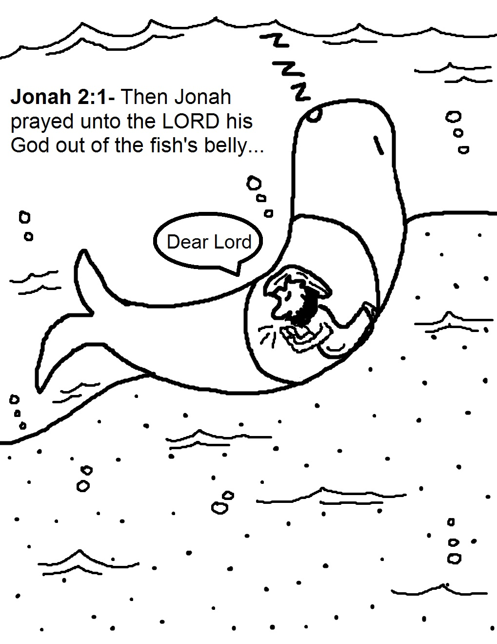Jonah Coloring Pages Best Jonah And The Whale Coloring Pages Design Ideas