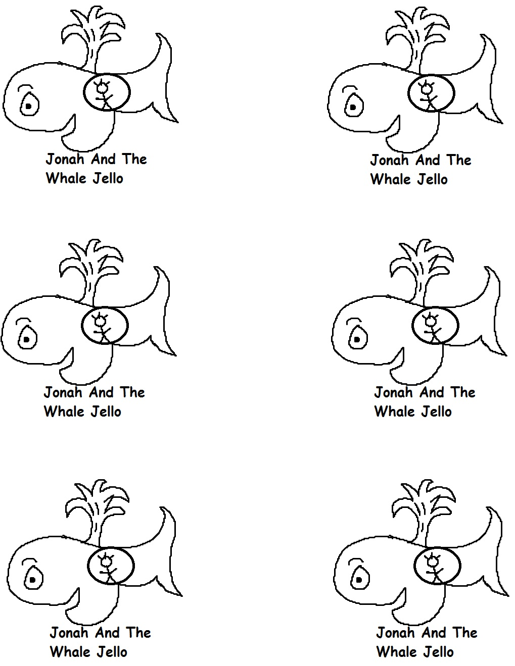 Coloring pages for jonah and the big fish - Plastic Cups Jonah And The Whale Template 6 Pictures 12 Pictures