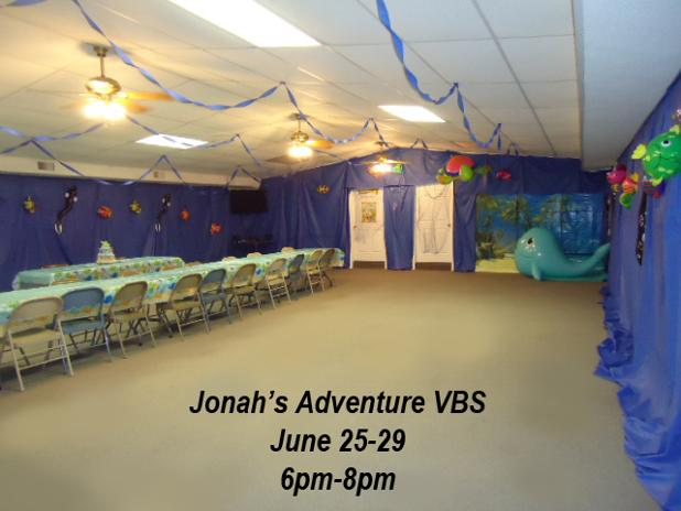 Jonah and The Whale VBS Idea