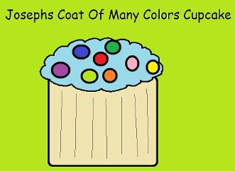 Josephs Coat Of Many Colors Cupcake Recipe