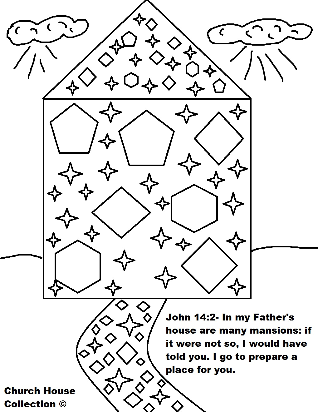 Mansions In Heaven Sunday School Lesson