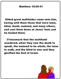 matthew 15, jesus, printable templates, print outs,