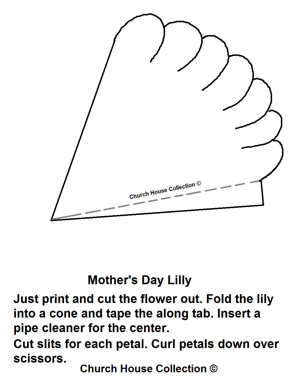 Mother S Day Lily Craft