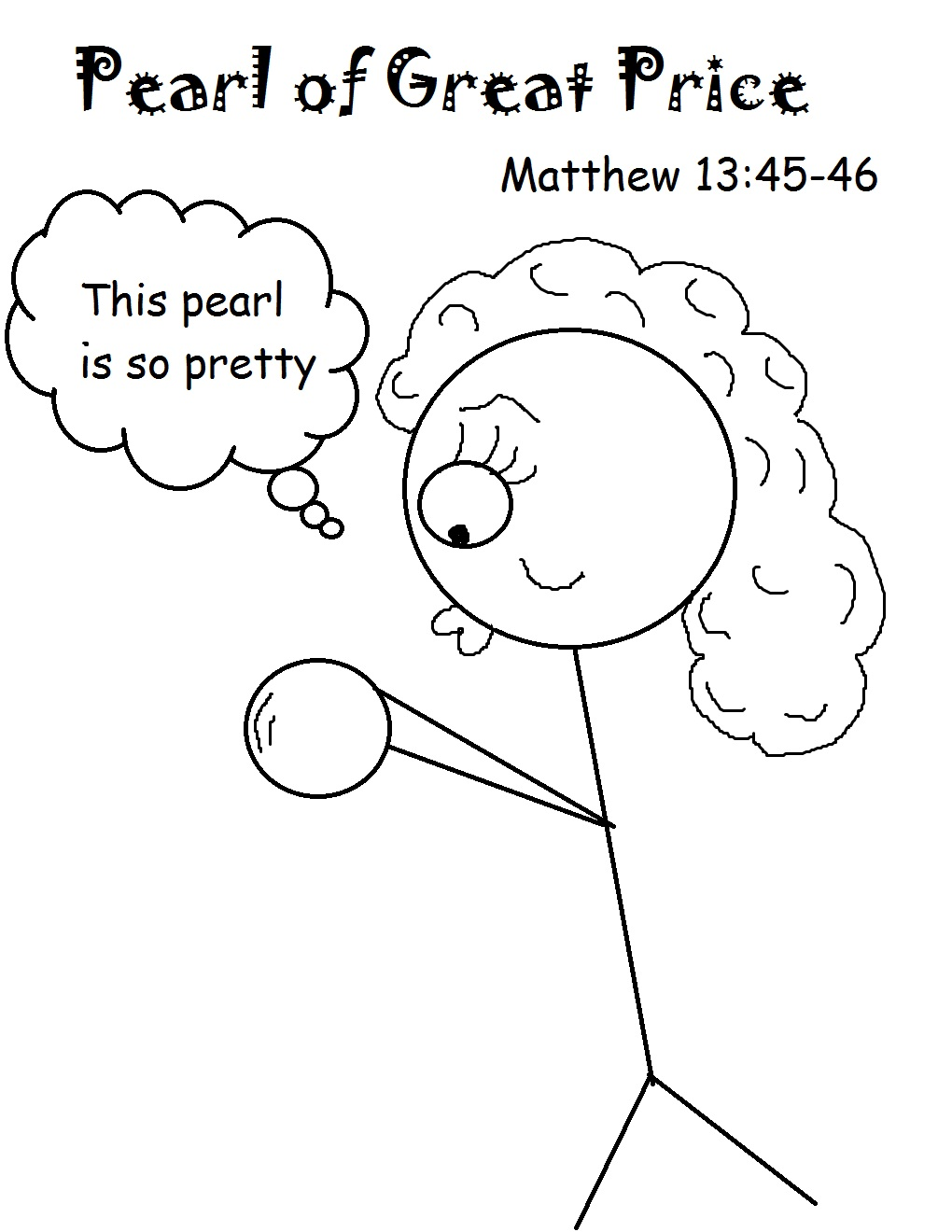 the pearl of great price sunday school lesson