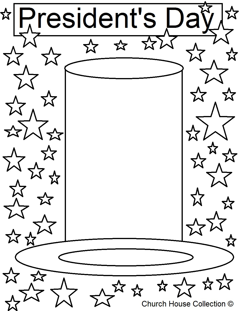 President 39 s Day Coloring Page