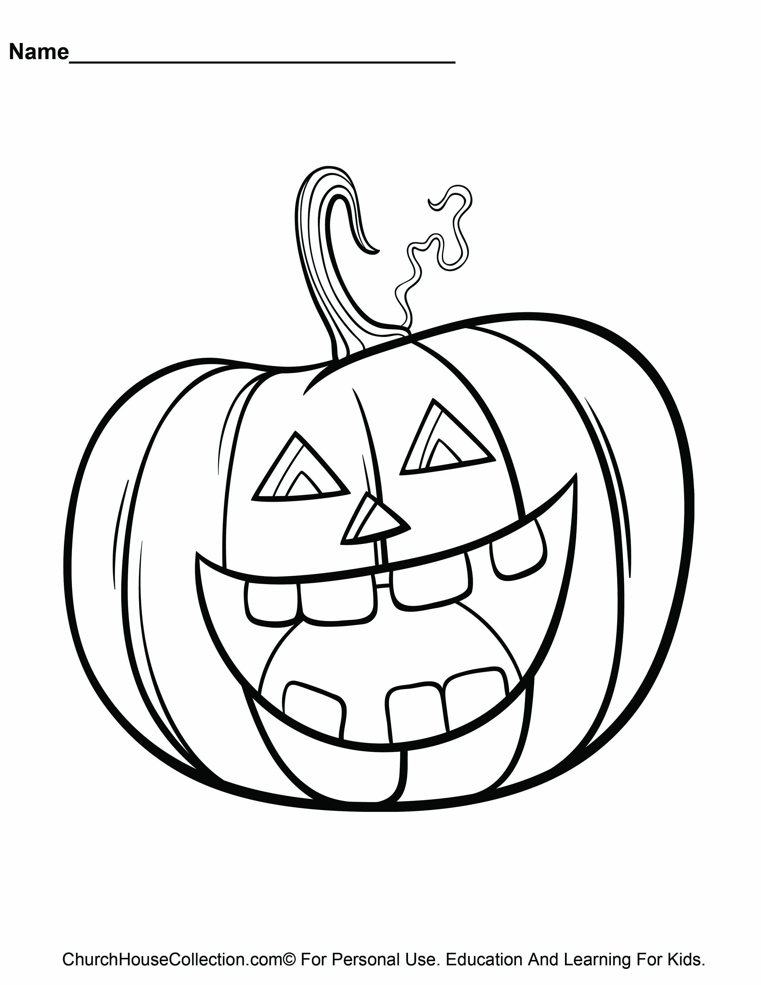 halloween sunday school coloring pages - photo#6