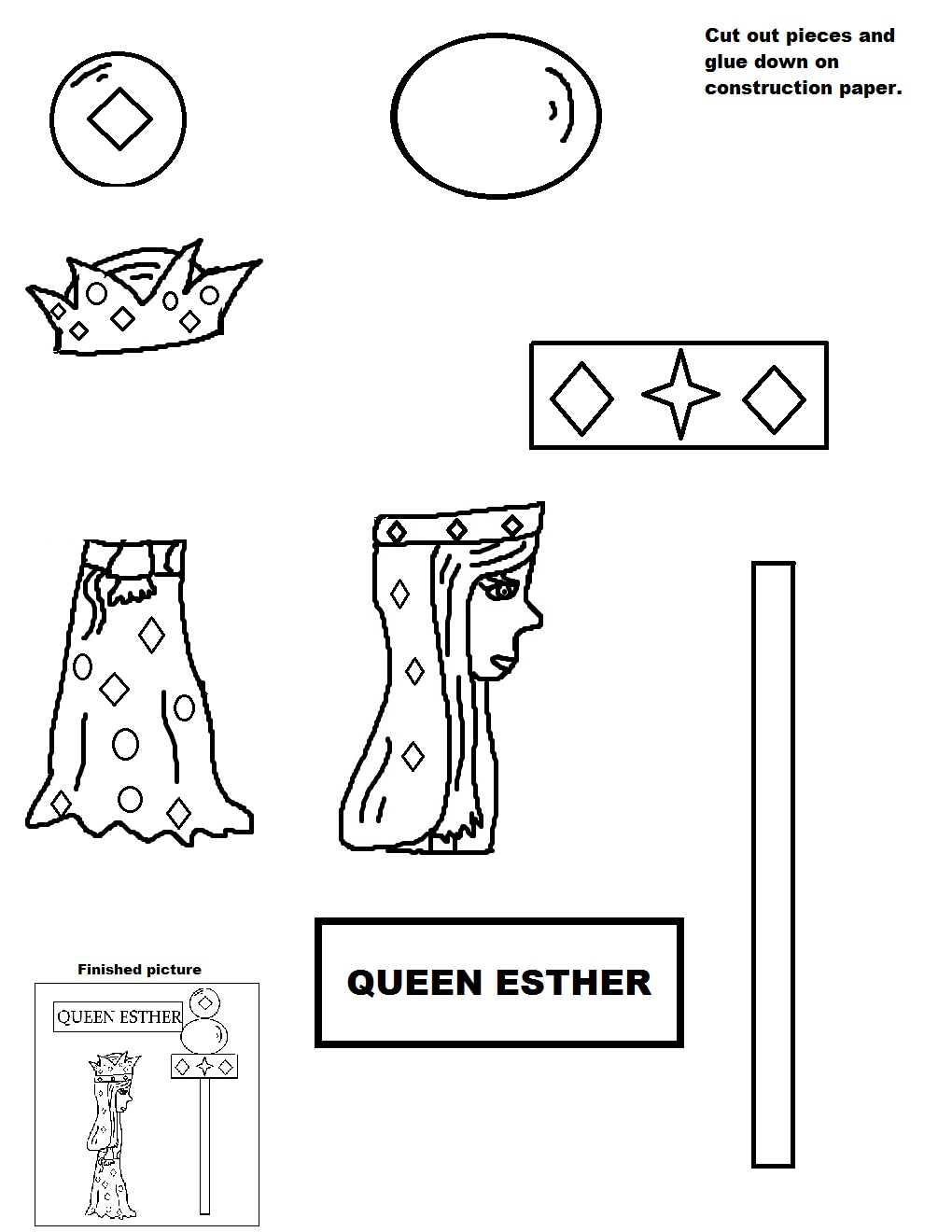 Queen Esther Sunday School Lesson