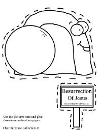 Resurrection Of Jesus Easter Tomb Cut Out
