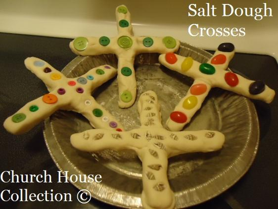 Easter Salt Dough Crosses