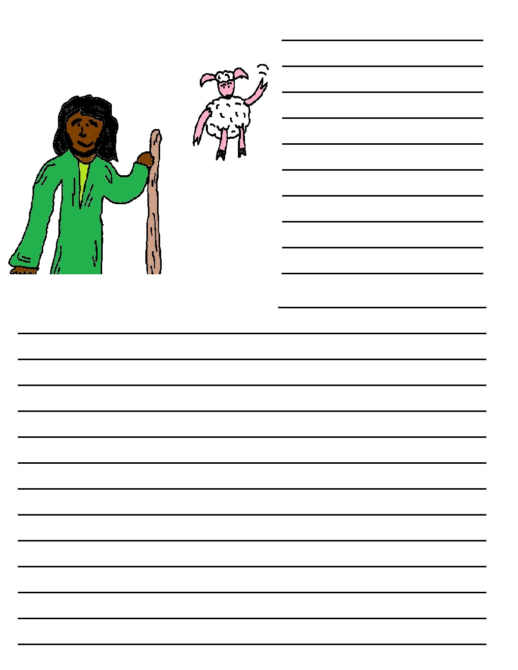 farm writing paper Farm theme units i abcteach provides over 49,000 worksheets page 1.