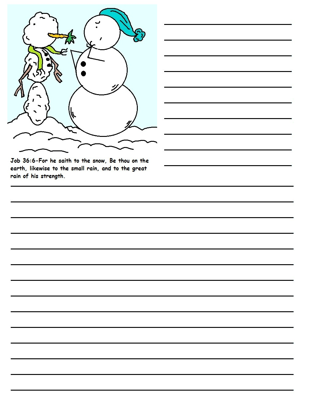 christmas printable writing paper