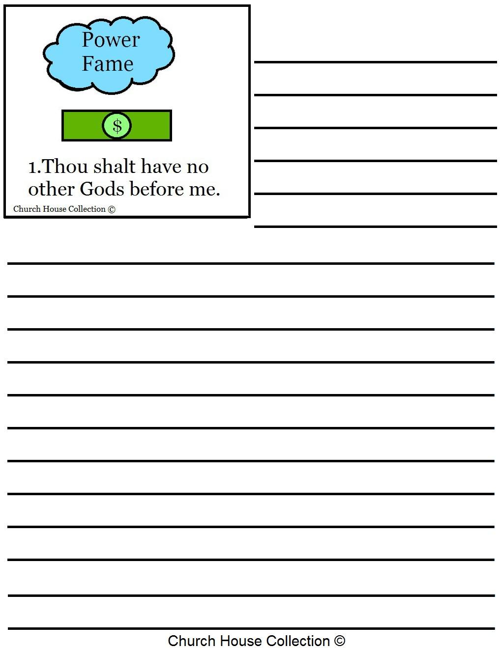 ten commandments of essay writing
